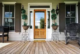 country front doorsCountry Front Door with Transom window  Glass panel door in