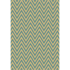 shop balta kesswood blue chevron sand and oasis blue rectangular