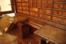 antique gany secretary desk with rosewood