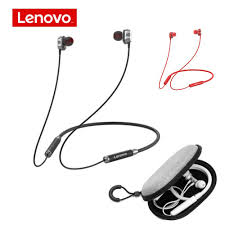 <b>Lenovo HE08 Wireless</b> Earphone 4 Speakers Bluetooth 5.0 Sports ...