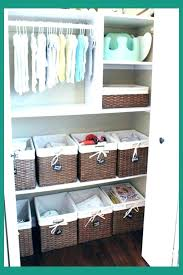 nursery closet ideas small baby