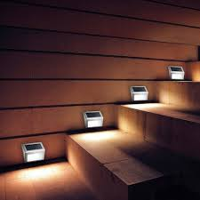 stair step lighting. Solar Stair Step Lights @2018 Wall Lamps Led Energy Saving Outdoor Lighting T