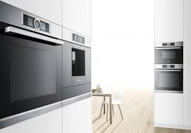 bosch built in appliances built in ovens can be integrated into both wall and base units if you choose a separate oven you can position the hob