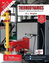 Thermodynamics (MO60A) For Mechanical Engineering (ME): Buy ...