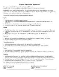 Equity Distribution Agreement Template Or 31 Sample Agreement