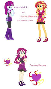 Equestria Girls Character Designs Equestria Girls Fusion Character Design Equestria Girls Pony