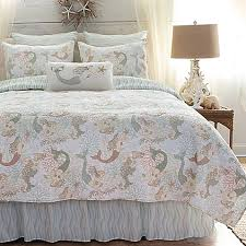 Coastal Bedding - Bed Bath & Beyond & image of Mystic Echoes Quilt in White Adamdwight.com