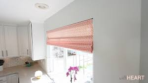 Roman Blind Diy Diy Roman Shades From Blinds Withheart Youtube
