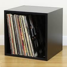 lp storage furniture. Sentinel Black Square LP/Vinyl Music Record Storage Cube/Cabinet Box Home Display Unit Lp Furniture T