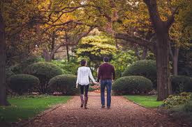 Image result for couples walking in the park