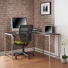 large office desks. Delighful Desks VonHaus LShaped Computer Desk  Large Corner Metal Leg Home Office  Workstation With Desks