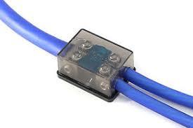 mini fuse block ebay ATM vs ATC Fuses knukonceptz bassik 2 way 0 gauge to 4 8 gauge mini anl fuse block w