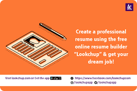 Create Perfect Resume Create A Perfect Resume Online Today With Lookchup Com