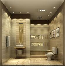 bathroom ceiling design photo of exemplary interior elegant grey themed bathroom interior with modest bathroom recessed lighting design photo exemplary