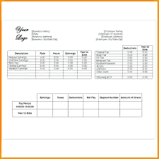 Blank Pay Stubs Template 20 Blank Pay Stub Template Free Blank Pay