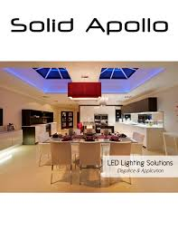 Solid Apollo Lighting Led Lighting Company Solid Apollo Has A New Print Catalog To