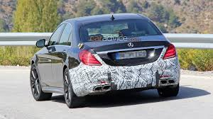 2017 Mercedes-Benz S-Class, AMG S63 spied testing - UPDATE ...