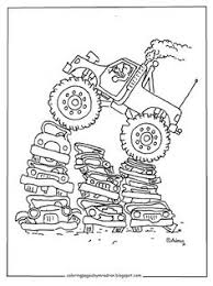 coloring pages for kids by mr adron printable monster truck coloring page