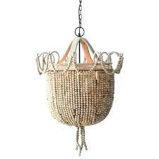 white beaded chandelier wooden beaded chandelier 3 light metal and wood bead chandelier wood beaded chandelier