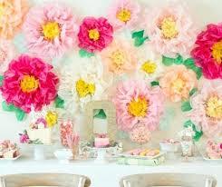 Tissue Paper Flower Centerpieces Tissue Paper Flowers Wedding Centerpiece