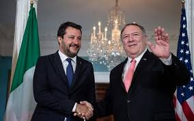 Who is the lega leader? In Washington Italy S Salvini Touts Common Cause With Trump And Israel The Times Of Israel