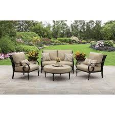 better homes and gardens colebrook 4 piece outdoor conversation set walmart