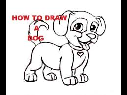 cute dogs drawings step by step. Plain Dogs In Cute Dogs Drawings Step By S