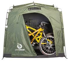 want a decent dumping ground for your bikes and other stuff one of the more economical outdoor bike storage solutions is the yardstash iii