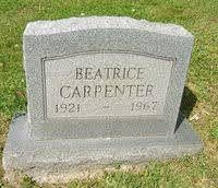 "Iva ""Beatrice"" Carpenter (Sayre) (1921 - 1967) - Genealogy"