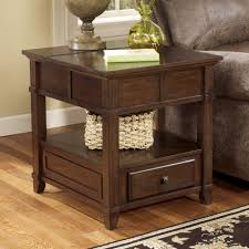 Signature Design By Ashley Gately T845 3 End Table With Hidden
