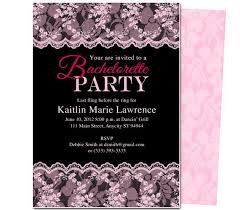 Printable Diy Bachelorette Party Invitations Boudoir