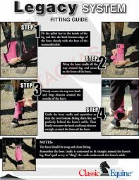 Classic Equine Legacy Front Hind Leg Boots System Plain Sport Smb Horse Tack
