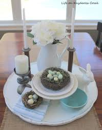 diy tray made from a three tiered table vignette upcycle challenge life on