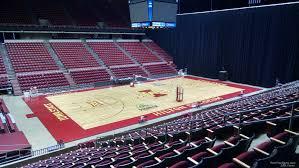 Hilton Coliseum Section 135 Rateyourseats Com