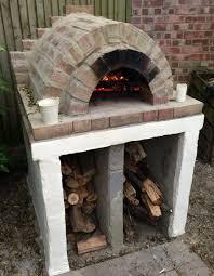 enthralling casag residential wood burning pizza oven kit edited
