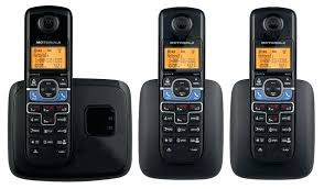 2 twin pack premium slim digital cordless phone with answering system wall mounted phones telephones machine
