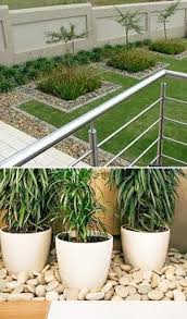 Small Picture 25 Beautiful Landscaping Ideas Adding Beach Stones to Modern