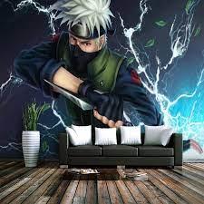 Custom Mural Wallpaper Anime ninja ...