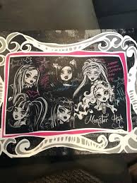 monster high bedding monster high bedding windows curtains art and posters monster high sheet set australia