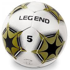 Fotbalový Míč šitý Legend Zlatý Ajomcz