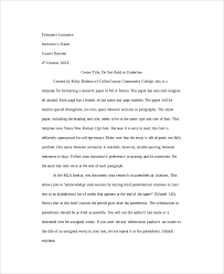 example of mla format essays okl mindsprout co example