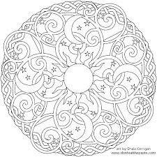 Mandala Coloring Pages Printable Free Free Mandala Coloring Pages To