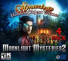 The types of puzzles to be solved can test many problem solving skills including logic, strategy, pattern recognition, sequence solving, and word. Amazon Com Moonlight Mysteries 2 Amazing Hidden Object Games 4 Pack Video Games
