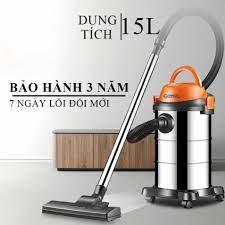 Máy hút bụi công nghiệp 15L Công suất 1200W máy hút bụi gia đình hút khô và  nước khiến việc nội trợ trở lên nhẹ nhàng hơ tại Hà Nội
