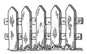 farm fence clipart black and white. Simple Fence Farm Fence Clipart Black And White For A