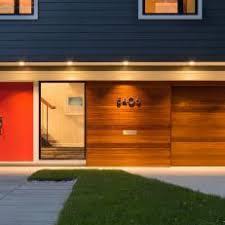 mid century modern garage door. Wonderful Mid Sapele Wood SingleCar Garage Door Throughout Mid Century Modern A