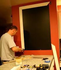 black chalkboard