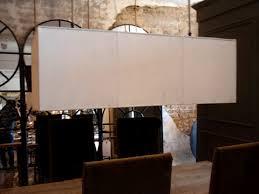 rectangle linen canopy chandelier