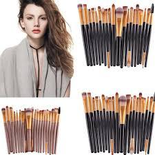 <b>20 Pcs</b> Lip eye brushes Fashion Complete Makeup Brush <b>Set</b> 12 ...