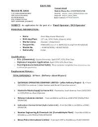 Chemical Operator Resume Cosy Chemical Process Operator Sample Resume About Chemical Process